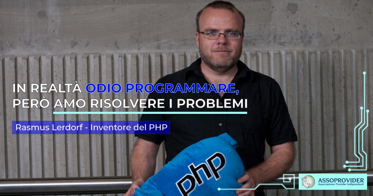 rasmus-lerdorf, inventore PHP