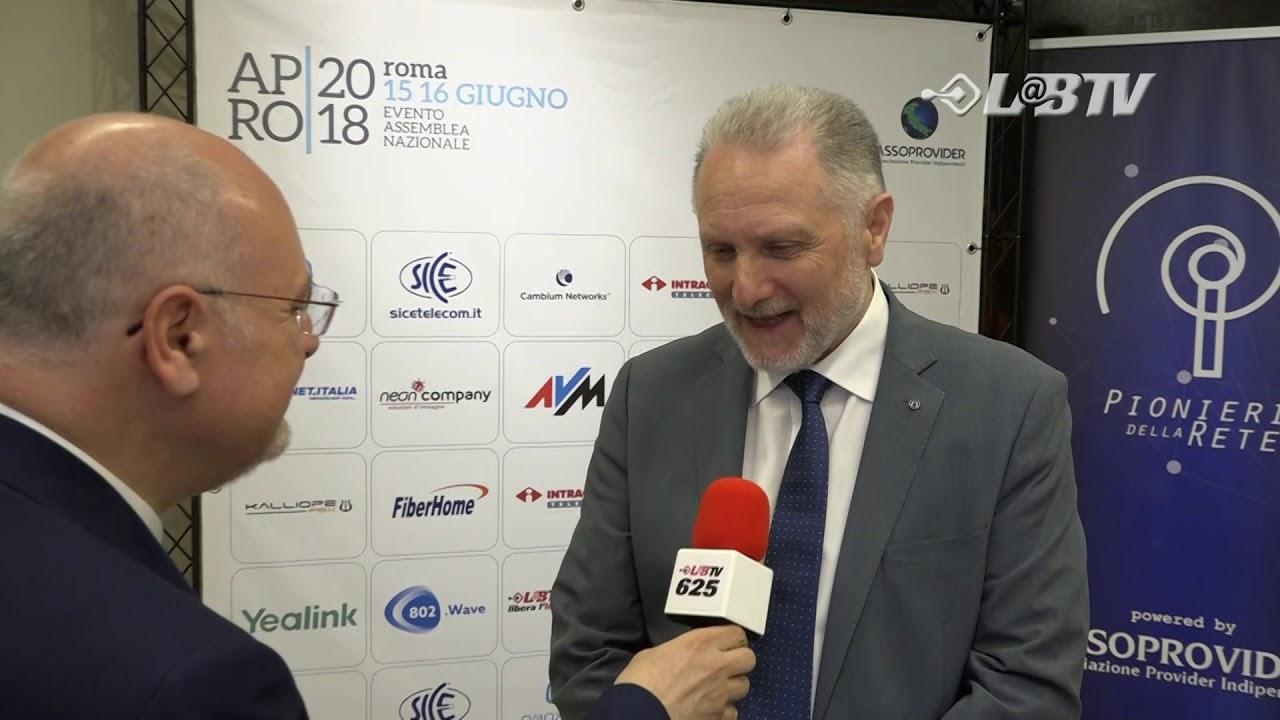 APRO18 - Claudio Pavan Presidente Nazionale Confartigianato Impianti