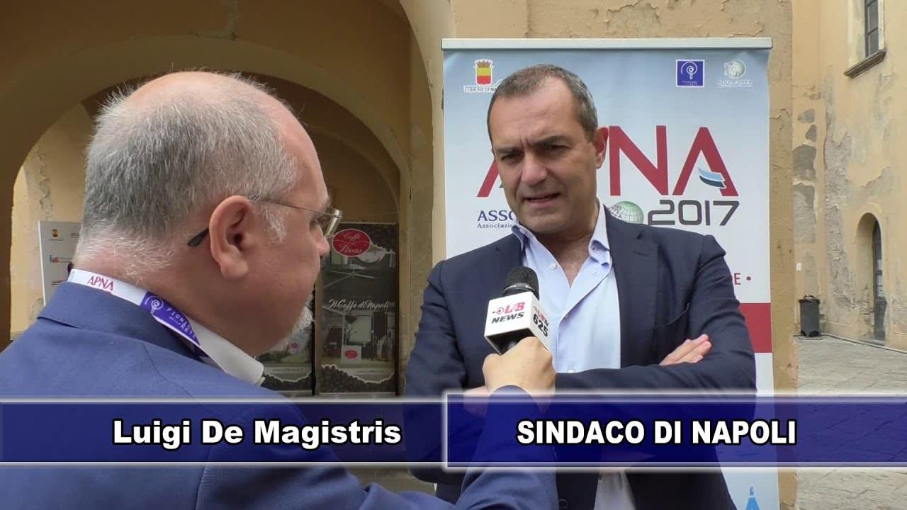 APNA17 - il Sindaco di Napoli Dott. Luigi De Magistris