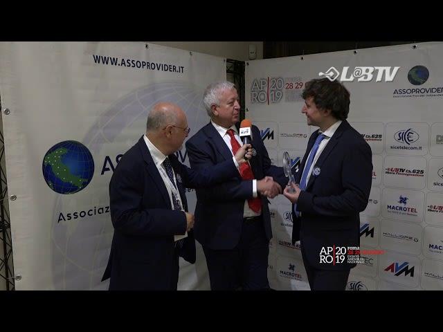 """APRO19 - Premio """"Pionieri della Rete"""" all'Economista Maurizio Matteo Decina"""