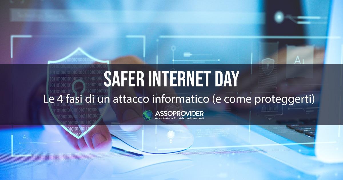 Safer Internet Day: le 4 fasi di un attacco informatico (e come proteggerti)