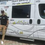 """Van Working Tour fa tappa a Massa e scopre un operatore di prossimità """"nato in spiaggia"""""""